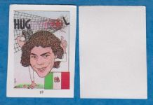 Mexico Hugo Sanchez Real Madrid 82